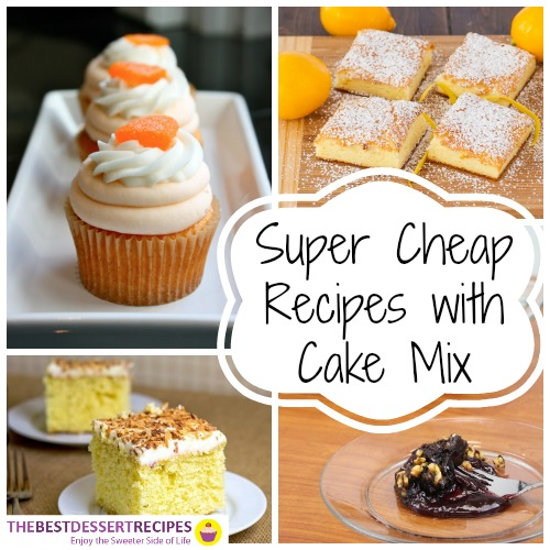 Recipes with Cake Mix