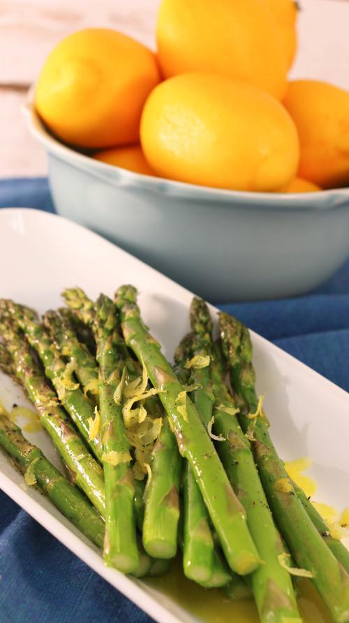 Quick Lemon Asparagus