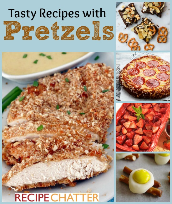 Recipes with Pretzels