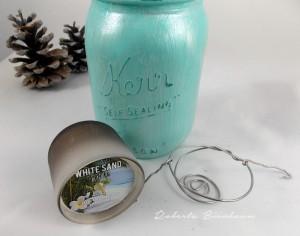 Mason Jar tea lights Roberta Birnbaum