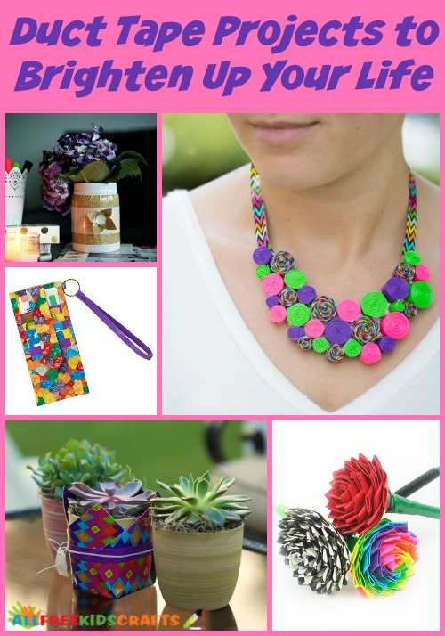 The top 10 duct tape projects to brighten up your life for Super easy duct tape crafts