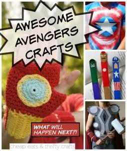 Avengers Crafts