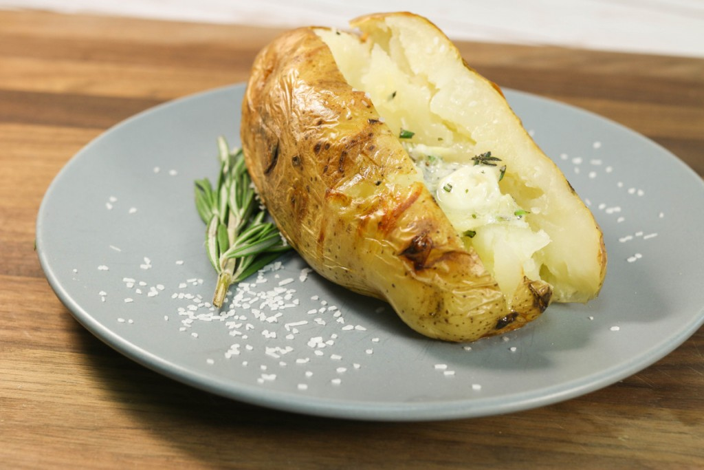 Simple Salt-Baked Potatoes