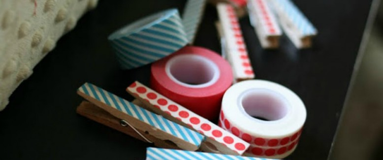8 Washi Tape Crafts for Easy Summer Crafts