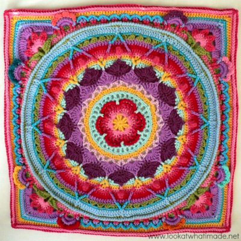 All A Da Mandalas 10 Granny Square Patterns Cheap Eats And