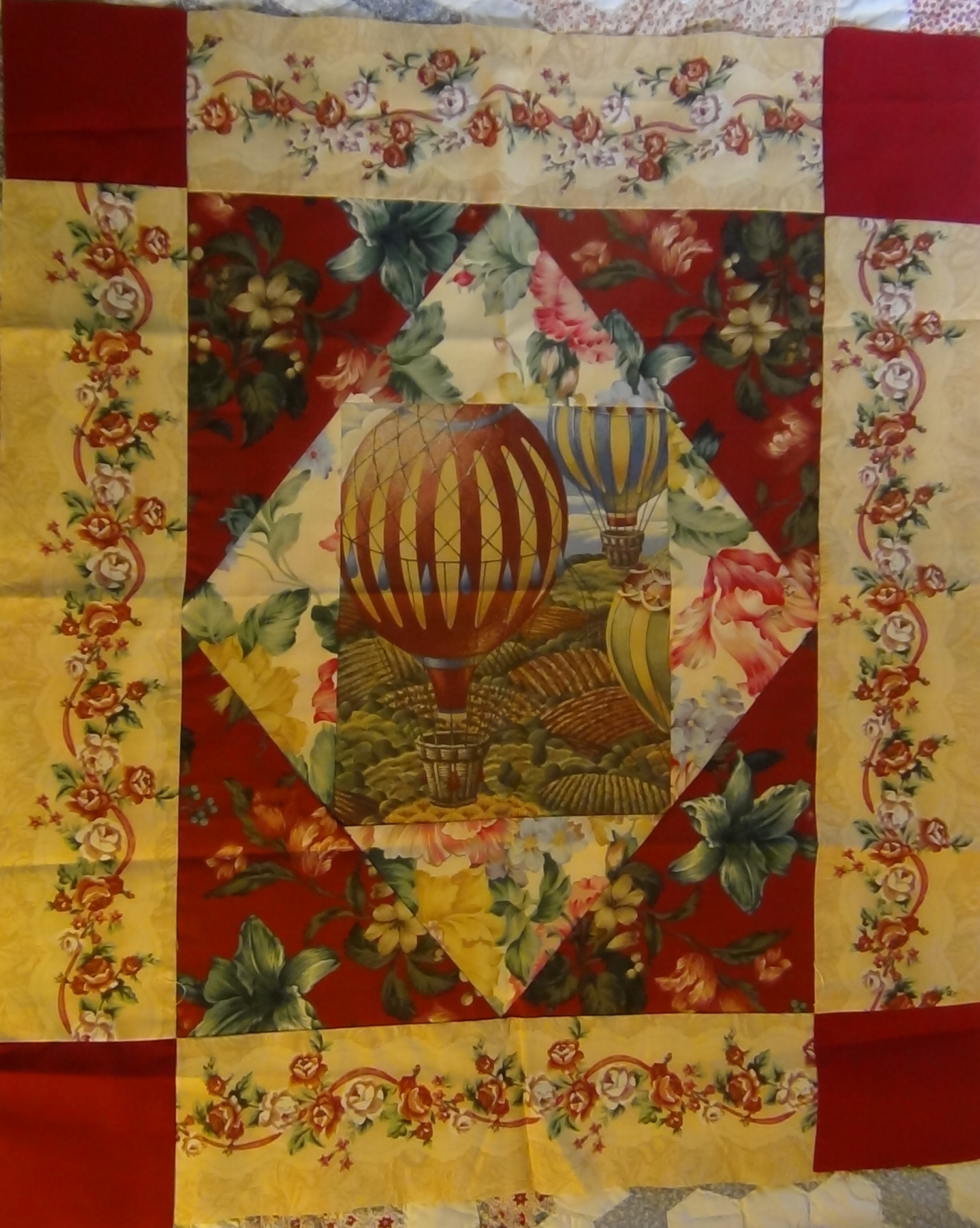 Carolyn wainscott 39 s vintage county fair quilt block for Quilt and craft show