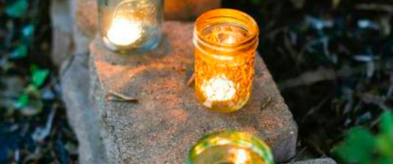 Our Magical Fall Preview: Hanging Lanterns and Other Mason Jar Crafts