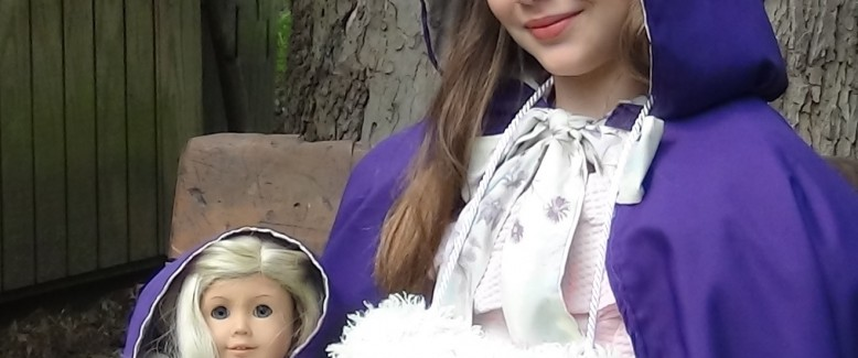 Victorian-Era Style: DIY Little Girl's Fur Muff with Matching Doll Fur Muff