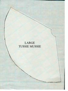 LARGE TUSSIE MUSSIE