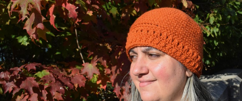 One-Skein Crochet Pattern: Halfway Harvest Hat