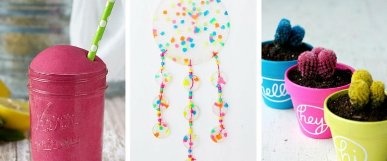 12 Summer Craft Ideas to Make with Your Grandkids