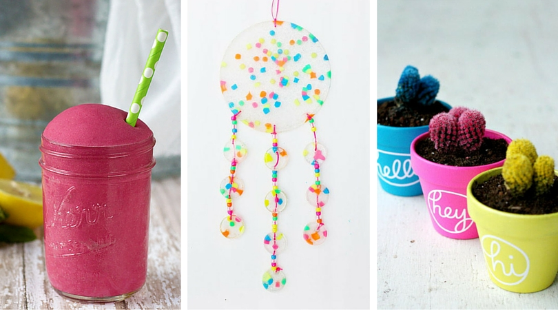12 Summer Craft Ideas To Make With Your Grandkids Cheap