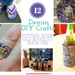 12 Denim DIY Crafts Putting Your Old Jeans to Good Use