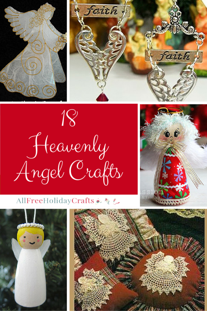 18 Heavenly Angel Crafts