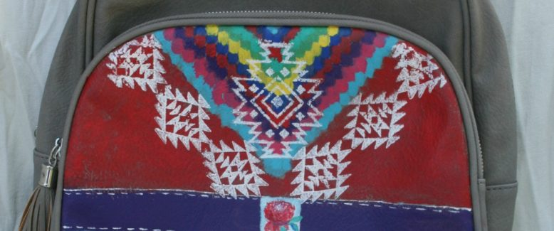 DIY Idea: Tribal Painted Backpack