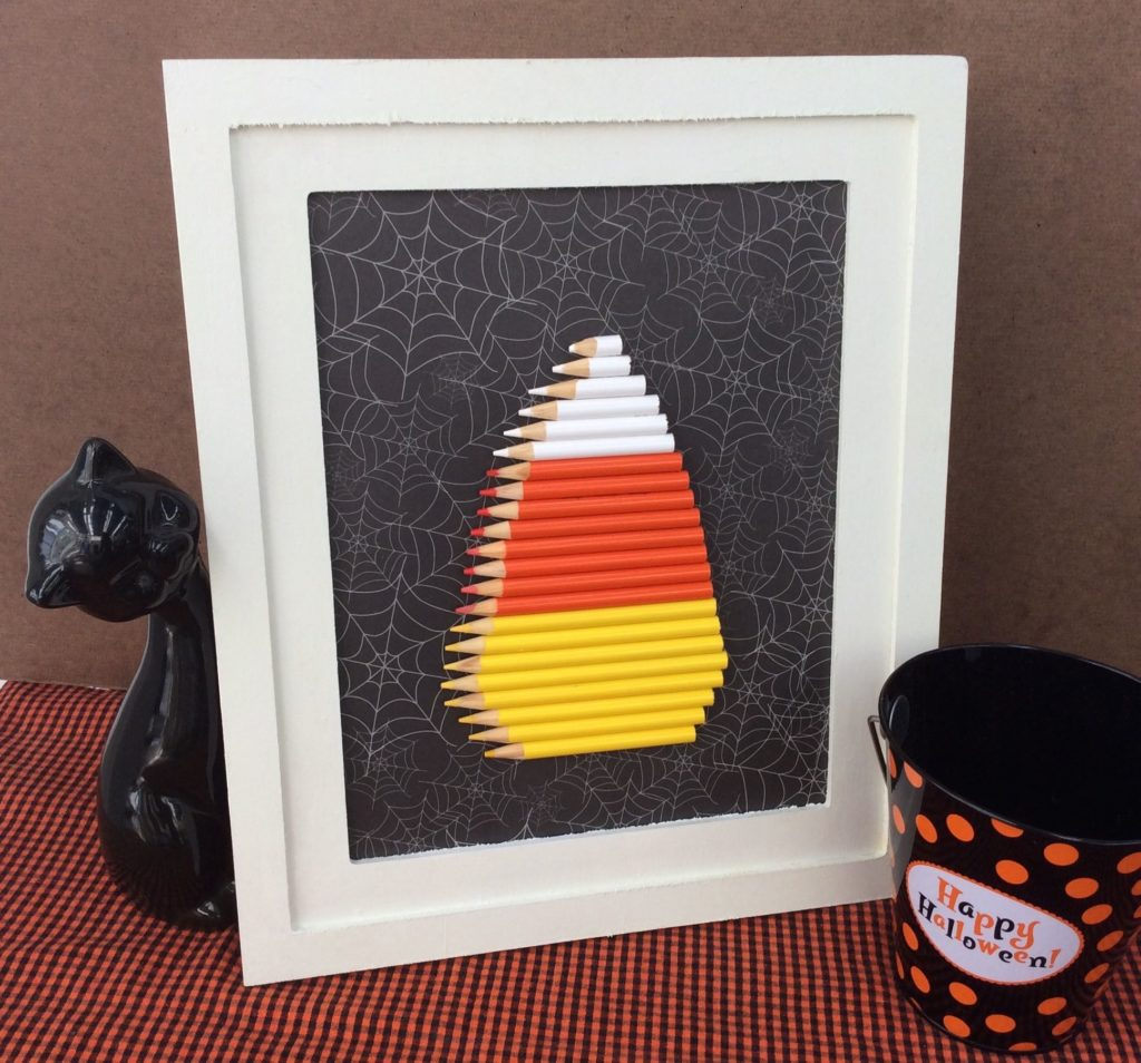 colered pencil candy corn stefanie girard