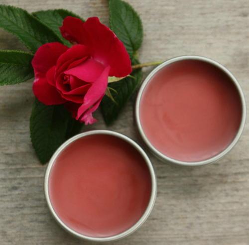 Peppermint Rose DIY Lip Balm