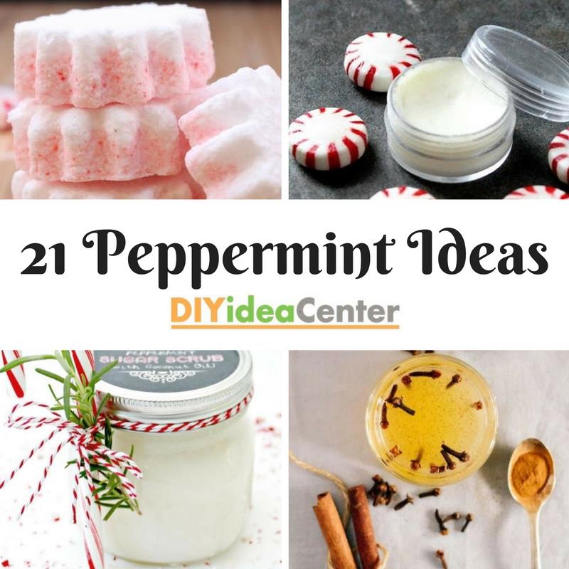 21 different peppermint ideas