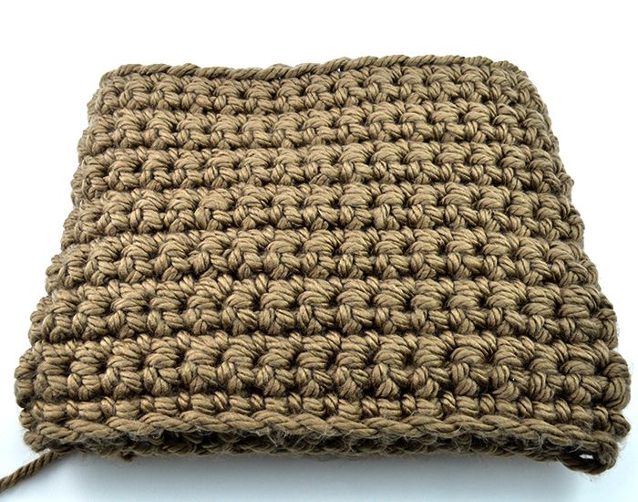 Mega Bulky Yarn Crochet Blanket Color A