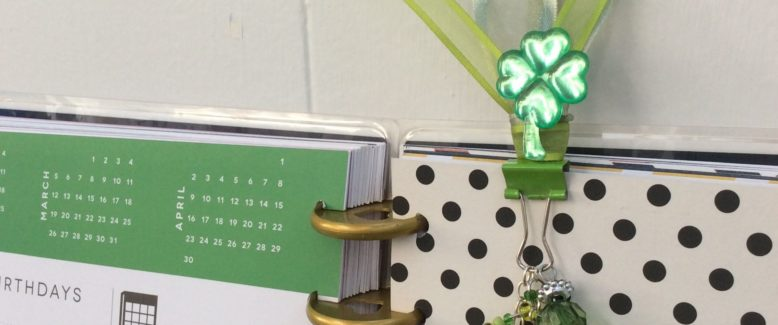 Lucky Penny Planner Charm for St. Patrick's Day