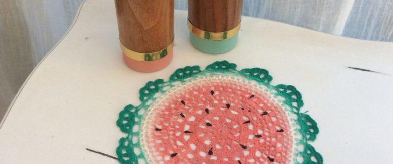 Fresh Summer Watermelon Doily Craft