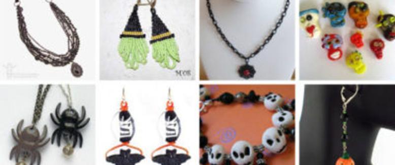 140 Frighteningly Fabulous Halloween Jewelry Projects