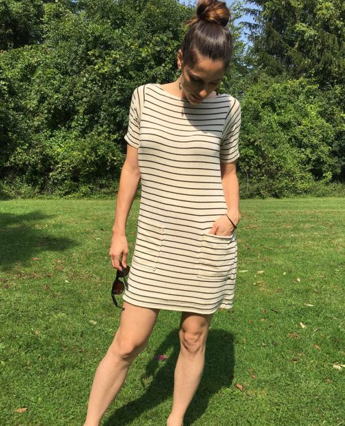 The French Striped Dress Tutorial