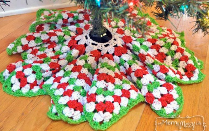 Crochet Christmas Decorations 5 Crochet Christmas Tree Skirts