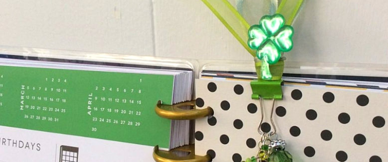 Lucky Penny DIY Planner Charm for St. Patrick's Day