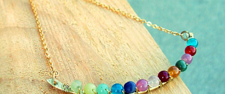 20 DIY Pendant Necklace Tutorials